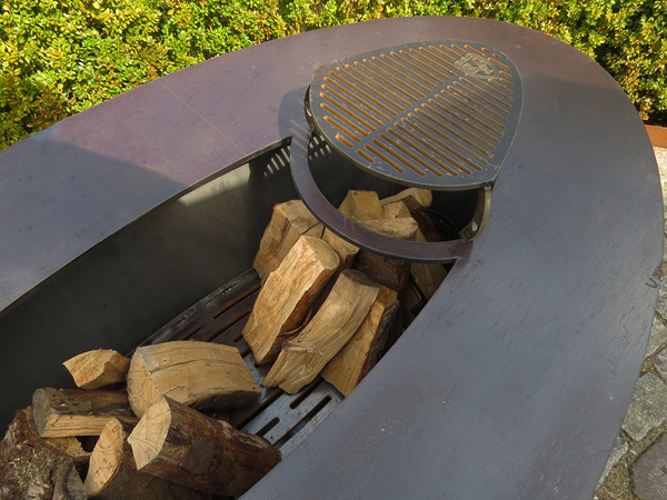 Edel und Garten Feuerschalen - Modell 2 - Gewicht: ca. 260 kg
