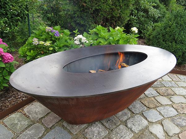 Edel Und Garten Feuerschalen   Modell 3